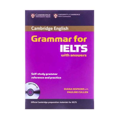 کتاب Cambridge Grammar for IELTS